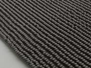 Striped solid-color wool rug GROOVE - Paola Lenti