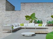 Corner garden sofa CANVAS | Corner sofa - Paola Lenti