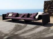 Sectional modular garden sofa ISLAND   Garden sofa - Paola Lenti