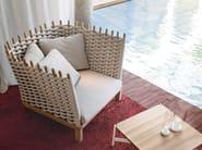 Garden armchair WABI   Garden armchair - Paola Lenti