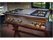 Countertop steel hob Hob - Officine Gullo