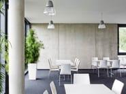Rectangular steel table CROSS | Table - Brunner