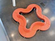 Modular fabric sofa GRATO | Modular sofa - Brunner