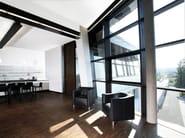 Upholstered leather armchair HAVANA | Armchair - Brunner