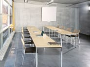 Rectangular steel table MILANOCLASSIC - Brunner