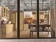 Lacquered fitted kitchen GAIOLE - Martini Mobili