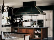 Lacquered linear kitchen IL CANTO DEL FUOCO | Lacquered kitchen - Martini Mobili