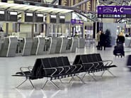 Aluminium beam seating TAKE - Brunner
