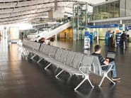 Aluminium beam seating TAKE - Brunner