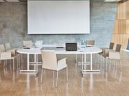 Folding rectangular meeting table TORINO | Meeting table - Brunner