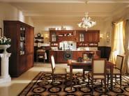 Walnut fitted kitchen AIDA | Walnut kitchen - Martini Mobili