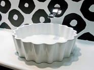 Countertop ceramic washbasin DOPPIO ZERO - CERAMICA FLAMINIA
