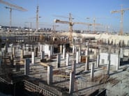 Formwork and formwork system for concrete GEOPANEL - GEOPLAST