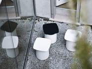 Polypropylene stool / coffee table DEGREE | Polypropylene coffee table - Kristalia