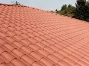 Recycled plastic roof tile ECOTEGOLA® - PROJECT FOR BUILDING