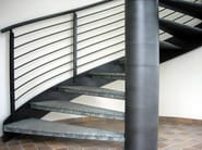 Metal Open staircase Open staircase - SARA STEEL