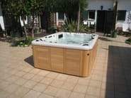 Rectangular hot tub for chromotherapy 5-seats BL-829 | Hot tub - Beauty Luxury