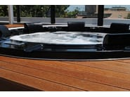 Round hot tub for chromotherapy 6-seats BL-831 | Hot tub 6-seats - Beauty Luxury
