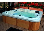 Hydromassage hot tub for chromotherapy 3-seats BL-837 | Hot tub 3-seats - Beauty Luxury