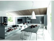 Fitted kitchen with island KALEA - COMPOSITION 2 - Cesar Arredamenti