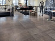 Porcelain stoneware flooring with wood effect WOOD² - Ceramiche Refin