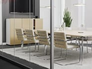 Cantilever chair with armrests S60 | Cantilever chair - THONET