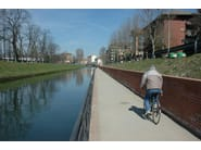Stabilized earth road pavement Glorit/A - Studio Muscatelli Pietro