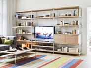 Wooden shelving unit 7000 | Shelving unit - THONET