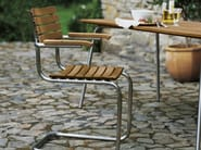 Cantilever chair with armrests S40 | Cantilever chair - THONET