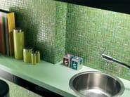 Glass and adventurine mosaic AURORE - Mosaico+