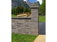 Cement Element for perimeter enclosure Element for perimeter enclosure - SAS ITALIA - Aldo Larcher