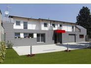 Ventilated facade DOGHE VMZINC® - UMICORE BUILDING PRODUCTS ITALIA