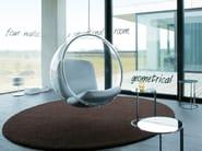 Solid-color polyamide rug POODLE 1487 - OBJECT CARPET GmbH