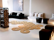 Solid-color polyamide rug SILHOUETTE 12 - OBJECT CARPET GmbH