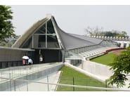 Continuous metal laminate for roof VMZINC PLUS® - UMICORE BUILDING PRODUCTS ITALIA