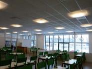 Steel ceiling lamp BOWI - ZERO