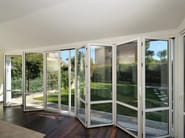 Aluminium folding door S.40 | Folding door - TENDER
