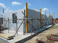 In situ concrete loadbearing masonry system CLIMABLOCK® - PONTAROLO ENGINEERING