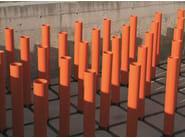 tubi di altezza variabile per pilastrini