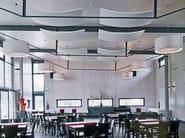 Mineral fibre acoustic ceiling clouds ULTIMA CANOPY - ARMSTRONG Building Products