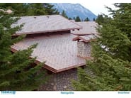 Copper roof tile PRESTIGE ELITE - TEGOLA CANADESE