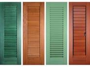 Pine shutter Pine shutter - F.lli Pavanello