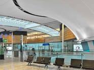 Acoustic Batyline® stretch ceiling BATYLINE AW - SERGE FERRARI®