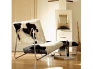 Leather armchair HIRCHE - Richard Lampert