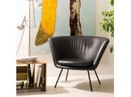 Velvet armchair H 57 - Richard Lampert