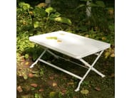 Folding garden side table FLIP - Richard Lampert
