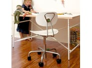Kids chair with casters TURTLE - Richard Lampert