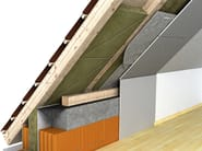 Thermal insulation panel / Sound insulation and sound absorbing panel in mineral fibre Dämmkeil 035 - ROCKWOOL ITALIA