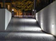 LED wall-mounted aluminium steplight PROMENADE 200 - Platek