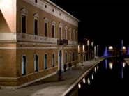 lighting of the town of Comacchio with TETRA PORTICI